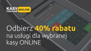 Rabat kasy online 2019